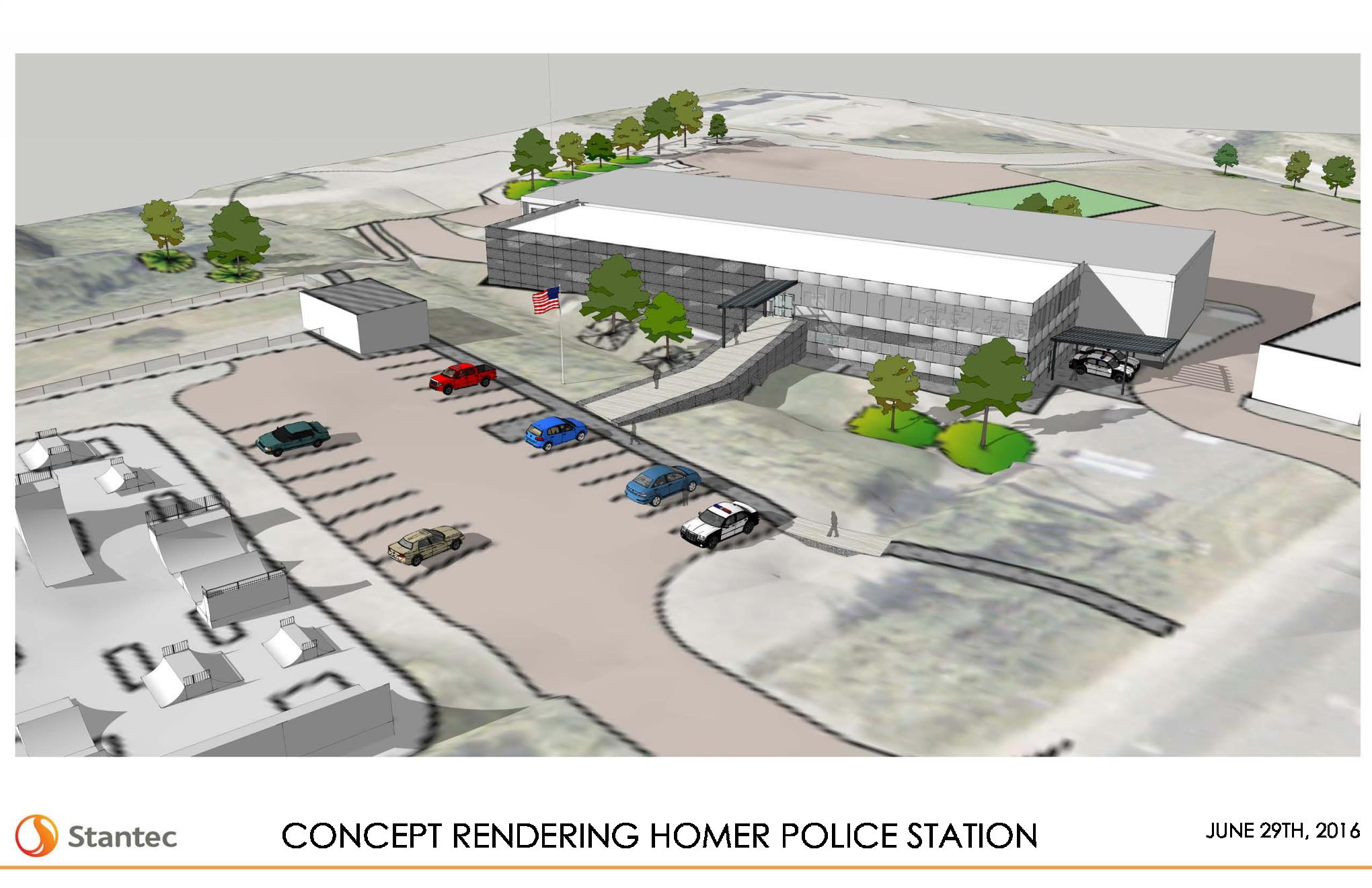 A New Police Department Phase 1 of the Public Safety Complex