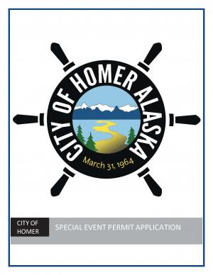 City of Homer Special Event Application
