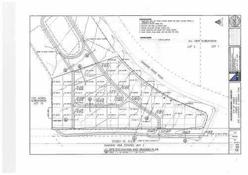 Hickerson Design Full Build Out – Site Grading Plan
